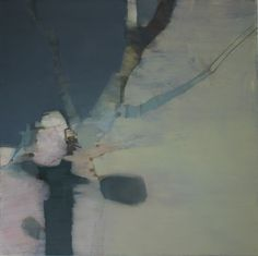 Clare Wilson: Whitethorn Shadow, oil on canvas, 150x150 cm, 2013