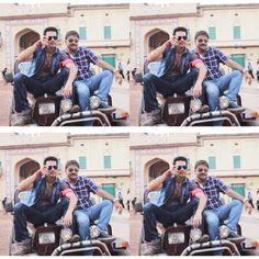 PRODUCER PRADEEP K SHARMA WITH RAJNIESH DUGGALL ON SET... Releasing on #19thFeb  Team #DirectIshq #RajivSRuia #ArjunBijlani #NidhiSubbaiah #PradeepkSharma #RajnieshDuggall  #bollywood #Instabollywood #bollywoodfilm #bollywoodmovie #bollywoodactresss #Bollywoodstar #movie2016 #Bollywooddirector #newtrailer