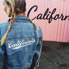 california denim jacket