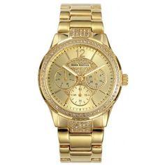 Reloj Mark Maddox MM6005-25 Golden Chic http://relojdemarca.com/producto/reloj-mark-maddox-mm6005-25-golden-chic/