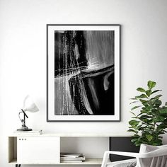Instant Download Minimalist ArtBlack & White Abstract Art