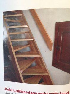 Escalier a pas chinois