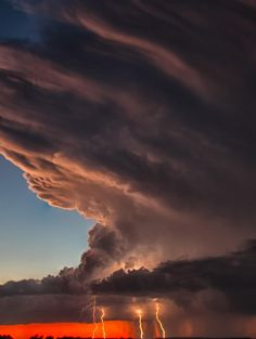 Western Oklahoma Supercell