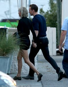 It seems Taylor Swift has been taking some fashion advice from her latest boyfriend Tom Hiddleston after she was spotted wearing an extremely similar pair of grey shoes. The 26-year-old was wearing what appeared to be identical footwear to her partner as she went out to dinner with the actor in Nashville, Tennessee, after visiting her parents who live in the city.