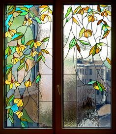 Stained Glass Door, Stained Glass Flowers, Stained Glass Crafts, Stained Glass Panels, Leaded Glass, Mosaic Glass, Glass Painting Patterns, Glass Painting Designs, Stained Glass Patterns