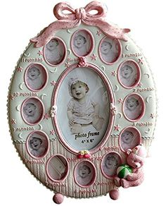 Gift Garden Collage Picture Frames - Pink Oval 12 Openings Frame for Baby Gift 4x6-inch Gift Garden http://www.amazon.com/dp/B00ZOQX8DQ/ref=cm_sw_r_pi_dp_Ej7iwb1XFDRR5