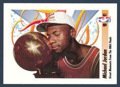 Michael Jordan # 334 - 1991-92 Skybox Basketball