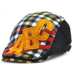 Good-quality Kids Boys Girls Cotton Grid Plaid Letter Cute Berets Hat Patch Flat Cap Casual Outdoor Visor Gorras is cheap, see more kids hats on NewChic. Flat Hats, Hat Patches, Girls, Boys, Kids Hats, Boy Or Girl, Baseball Hats, Plaid, Mothers