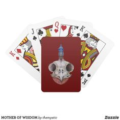 MOTHER OF WISDOM PLAYING CARDS Wedding Invitation Wording, Invitation Cards, Custom Deck Of Cards, Activity Games, Business Supplies, Baby Shower Games, Etiquette, Gifts For Dad, Art For Kids