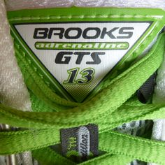 Brooks Adrenaline GTS 13. Best running shoes ever.