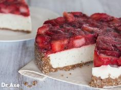 Strawberry Lime Pie, 18 Low-Carb Desserts You Won't Be Able to Resist