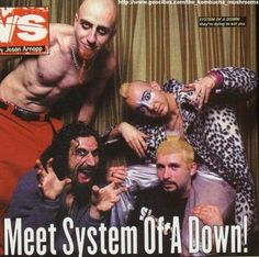 System Of A Down <3 John Dolmayan, Armenian American, System Of A Down, Rock Bands, Singer, Music, Musica, Musik, Singers