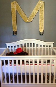 Baby room initial with fire hose