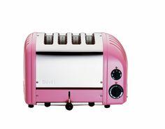 DUALIT NewGen 4-Slice Toaster - Petal Pink $295- FREE SHIPPING OR PICK UP