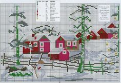 Christmas Cross Stitch On Pinterest | christmas cross stitches