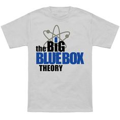 Big Blue Box Theory - NeatoShop