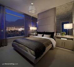 Bedrooms, Master -  I would love to wake up to the outdoor scenery!