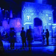 David Stark uses backlit murals