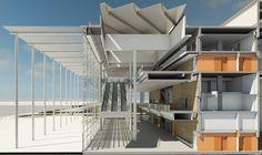 Rudolf Esterhuyse, SVA, Architecture, CTICC Stairs, Loft, Architecture, Bed, Furniture, Home Decor, Arquitetura, Stairway, Decoration Home