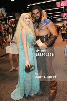 Dany and Khal Drogo