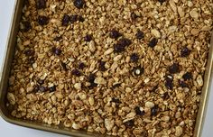 Got leftover pulp from homemade almond milk? Turn it into Almond Pulp Granola!