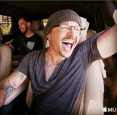 Chester❤Bennington I am glad to see he was so happy in his final days. RIP Chester, you will be forever missed