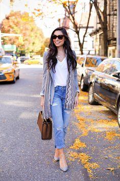 Fall Tones - Club Monaco blazer // Missoni scarf T by Alexander Wang shirt // Current Elliott jeans Jean Michel Cazabat heels // Fendi bag Monday, November 16, 2015
