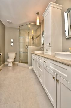 That shower may be what I have in mind. Size, shape. nice feel to bathroom but a bit stark
