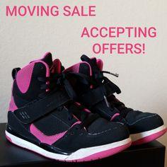 factory price 27cf4 27277 Jordan Shoes   2 For  49 Girls Flight Jordans   Color  Black Pink