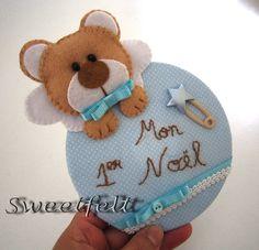 ♥♥♥ Mon 1er Noel rapaz! by sweetfelt  ideias em feltro