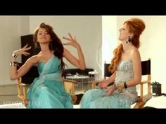 Zendaya & Bella Thorne - Behind The Scenes Of Seventeen Magazine Prom Photoshoot 2012