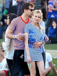 loooove Diane Kruger's outfit (and btw how cute are she and Joshua Jackson)