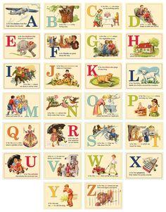 Una delle mie passioni sono gli alfabeti e infatti ne ho ricamati parecchi, per richiamarmi ai sampler dell'800 ricamati a punto croce dalle...