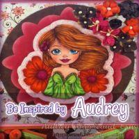 Audreys Inspiration  Layla Spring Shoulders Alternate Gate Fold card #digitalstamps #coloringpages #fairies