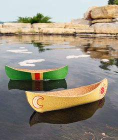 How to make a cork canoe. Scroll across the pictures under the bigger picture to get a free template and directions. :o)