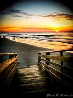 South Carolina Coastal Sunrise- I want to live here someday..
