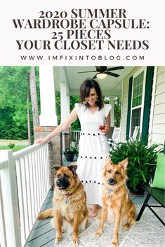 NC Blogger I'm Fixin' To shares her 2020 summer wardrobe capsule featuring 25 pieces your closet needs this season and beyond. Check it out!