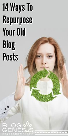 It doesn't always take NEW content to bring in new traffic - just content that is new, to your newer readers. Repurposing and recycling old blog posts is a great way to engage with your audience and grow your traffic, without having to publish brand new blog posts!