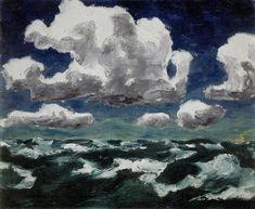 drawpaintprint:    Emil Nolde: Summer Clouds, 1913