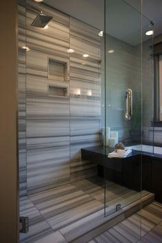 Shower - Kitchen Remodel // Brown Restoration #KansasCity