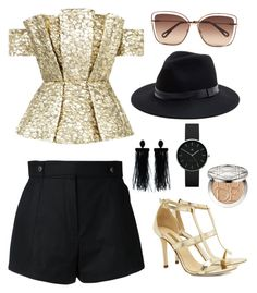 """Birthday with style"" by nadoushi on Polyvore featuring Bambah, Courrèges, Chloé, Sole Society, Dee Keller, Oscar de la Renta, Newgate and Christian Dior"