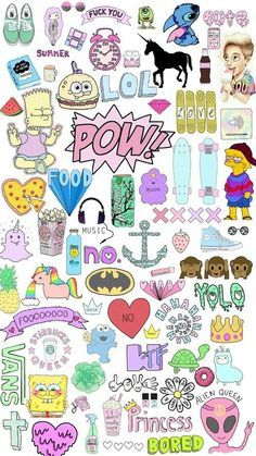 Clipart wallpaper blink - drawn collage disney drawing 10 - 500 x Emoji Wallpaper, Tumblr Wallpaper, Tumblr Drawings, Cute Drawings, Tumblr Stickers, Cute Stickers, Cute Backgrounds, Cute Wallpapers, Tumblr Clipart