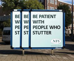 National Stutter Foundation Ad