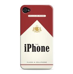 I don't get cancer from cigarettes. I get it from cell phones.