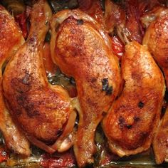 Serve these crispy grilled chicken legs over vegetables. Easy Baked Chicken Legs Recipe from Grandmothers Kitchen. Baked Bbq Chicken Legs, Chicken Legs And Thighs Recipe, Baked Lemon Garlic Chicken, Cheesy Baked Chicken, Chicken Drumstick Recipes, Garlic Chicken Recipes, Chicken Thigh Recipes, Grilling Recipes, Cooking Recipes