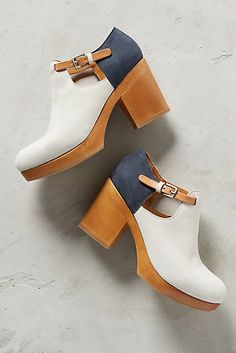 Coclico Navy Colorblock Clogs