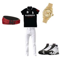 """sm"" by sosababy1201 ❤ liked on Polyvore featuring Dsquared2, Freaker, MCM, Rolex, men's fashion and menswear"