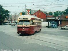 College and Lansdowne. I went to that Harvey's while in high school.  TTC TORONTO PCC CAR