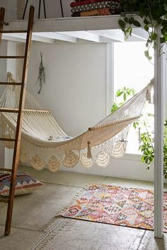 GYPSY YAYA: White & Wooden Loft Beds