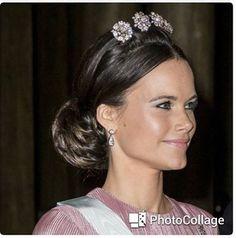 Princess Sofia in the Tiara Royal Tiaras, Royal Jewels, Tiaras And Crowns, Crown Jewels, Princess Sofia Of Sweden, Prince And Princess, Tiara Hairstyles, Wedding Hairstyles, Prinz Carl Philip